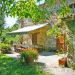 Ferienhaus Toskana TOH530 überdachte Terrasse