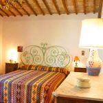 Ferienhaus Toskana TOH530 Doppelbett im Schlafraum