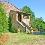 Ferienhaus Toskana TOH530 Garten mit Rasen