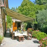 Ferienhaus Toskana TOH530 Gartenmöbel auf der Terrasse