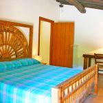Ferienhaus Toskana TOH530 Schlafzimmer mit Doppelbett