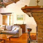 Ferienhaus Toskana TOH530 Sitzecke um den Kamin
