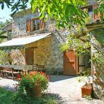 Ferienhaus Toskana TOH530 Terrasse mit Esstisch