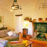Ferienhaus Toskana TOH530 Wohnbereich mit Kamin