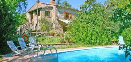 Ferienhaus Orvieto 530 mit Pool für 8 Personen, Wohnfläche 220qm. Wechseltag Samstag, Nebensaison flexibel auf Anfrage.