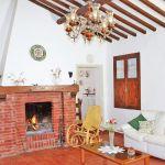 Ferienhaus Toskana TOH570 Couch am Kamon