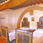 Ferienhaus Toskana TOH570 Schlafzimmer mit 2 Betten