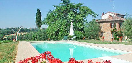 Ferienhaus Toskana Marciano della Chiana 570 für 12 Personen mit Pool, Wohnfläche 260qm. Wechseltag Samstag, Nebensaison flexibel auf Anfrage.