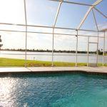 Ferienhaus Florida FVE46175 Blick auf Pool und See