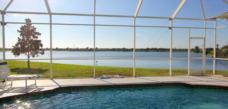 Deluxe Ferienhaus Florida Lake Marlin 46175 mit beheizbarem Pool direkt am See, Grundstück ca. 2.000qm, Wohnfläche 250qm, Wechseltag flexibel.