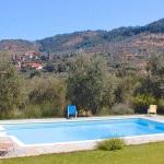Ferienhaus Toskana TOH400 - Poolbereich mit Liegestühlen