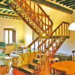 Ferienhaus Toskana TOH400 Wohnraum mit Tisch