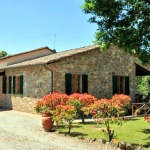 Ferienhaus Toskana TOH420 - Auffahrt zum Haus