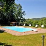 Ferienhaus Toskana TOH420 - Garten mit Pool