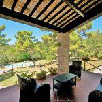 Ferienhaus Toskana TOH420 Gartenmöbel auf der Terrasse