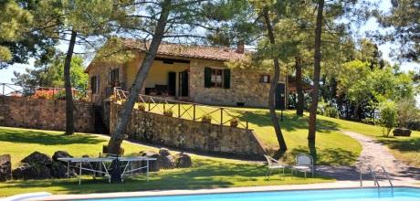 Ferienhaus Toskana Lucignano 420 mit Pool auf großem Gartengrundstück, Wohnfläche 130qm. Wechseltag Samstag, Nebensaison flexibel – 2017 jetzt buchen!