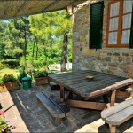 Ferienhaus Toskana TOH420 - Terrasse mit Sitzgelegenheiten