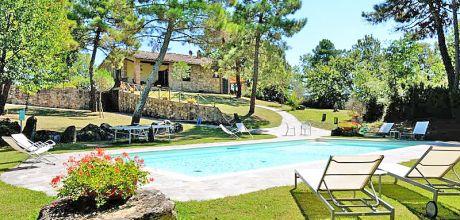 Ferienhaus Toskana Lucignano 420 mit Pool auf großem Gartengrundstück, Wohnfläche 130qm. Wechseltag Samstag, Nebensaison flexibel.