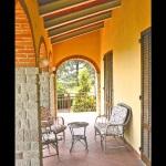 Ferienhaus Toskana TOH421 - überdachte Terrasse
