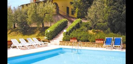 Toskana Ferienhaus Monte San Savino 421 mit Pool und Weitblick, kostenlose Stornierung bis 45 Tage vor Anreise für alle Neubuchungen, Wechseltag Samstag, Nebensaison flexibel auf Anfrage.
