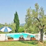 Ferienhaus Toskana TOH421 Sonnenliegen am Pool