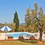 Ferienhaus Toskana TOH421 - Sonnenliegen am Pool