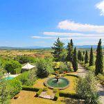 Ferienhaus Toskana TOH422 Blick auf das Anwesen