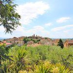 Ferienhaus Toskana TOH422 Blick auf die Stadt