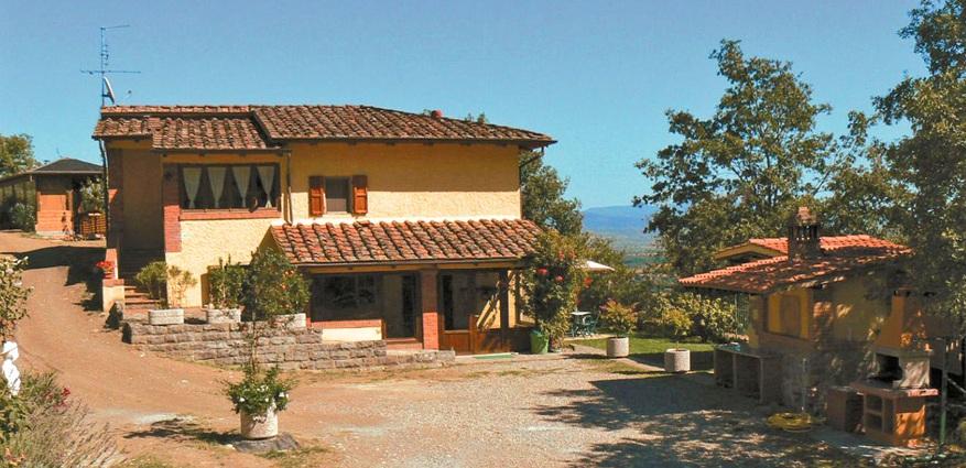 Toskana ferienhaus pieve al toppo 423 mit pool und ausblick for Toskana haus modern