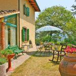 Ferienhaus Toskana TOH423 Garten