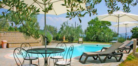 Toskana Ferienhaus Pieve al Toppo 423 mit Pool und Ausblick, Wohnfläche 150qm. Wechseltag Samstag, Nebensaison flexibel.