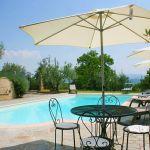 Ferienhaus Toskana TOH423 Sitzecke am Pool