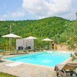 Ferienhaus Toskana TOH423 Sonnenliegen am Pool