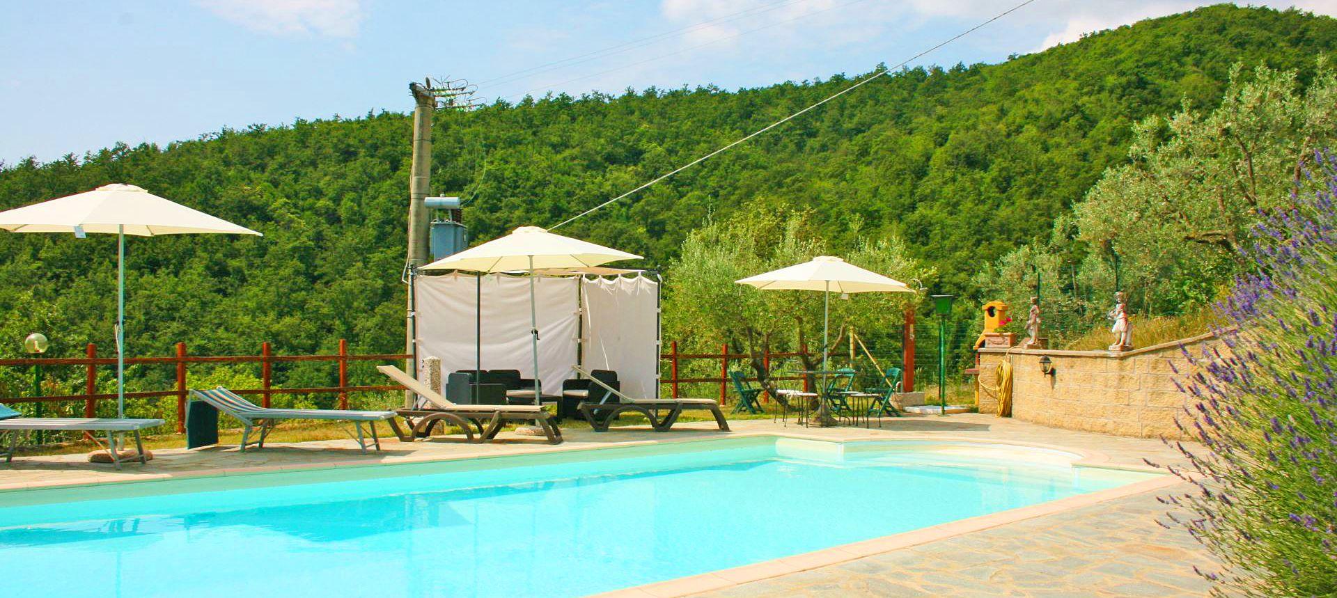Ferienhaus Toskana TOH423 Swimmingpool