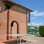 Ferienhaus Toskana TOH425 Tischtennisplatte am Haus
