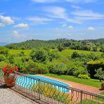 Ferienhaus Toskana TOH430 Ausblick von der Terrasse
