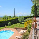 Ferienhaus Toskana TOH430 Blick auf den Pool