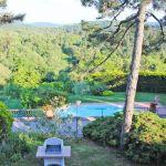 Ferienhaus Toskana TOH430 Blick in den Garten