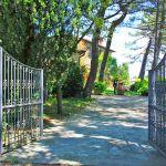 Ferienhaus Toskana TOH430 Einfahrt zum Haus