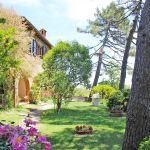 Ferienhaus Toskana TOH430 Garten mit Blumen