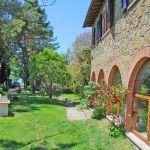 Ferienhaus Toskana TOH430 Grill im Garten
