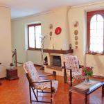Ferienhaus Toskana TOH430 Kamin im Wohnzimmer