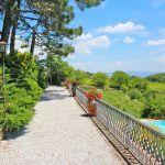 Ferienhaus Toskana TOH430 Weg mit Blumen