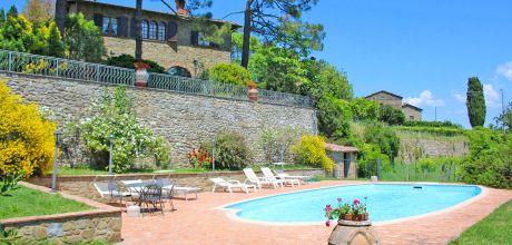 Ferienhaus Monte San Savino 430 mit Pool, kostenlose Stornierung bis 45 Tage vor Anreise für alle Neubuchungen, Wechseltag Samstag, Nebensaison flexibel auf Anfrage.
