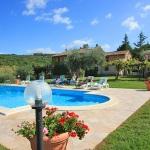 Ferienhaus Toskana TOH435 - Schwimmanlage im Garten