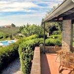 Ferienhaus Toskana TOH440 - überdachte Terrasse