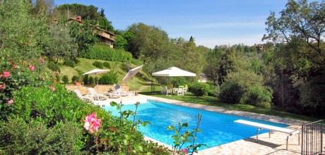 Ferienhaus Toskana Monte San Savino 440 mit großem Pool, kostenlose Stornierung bis 45 Tage vor Anreise für alle Neubuchungen, Wechseltag Samstag, Nebensaison flexibel – Mindestmietzeit 1 Woche.