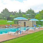 Ferienhaus Toskana TOH445 Gartenmöbel am Pool
