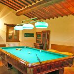 Ferienhaus Toskana TOH445 Raum mit Billiardtisch