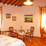 Ferienhaus Toskana TOH445 Schlafzimmer mit Sitzecke
